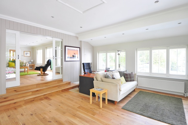 wide open livingroom